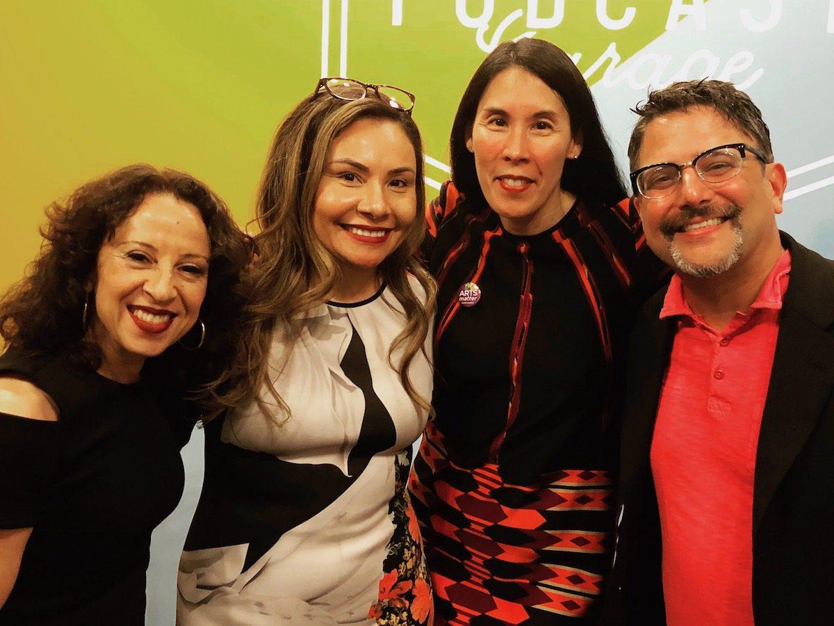 Interview w/ Maria Hinojosa, Julio Ricardo Varela, and Marcela García